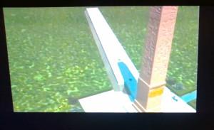 """due immagini """"rubate"""" dal filmato-simulazione"""